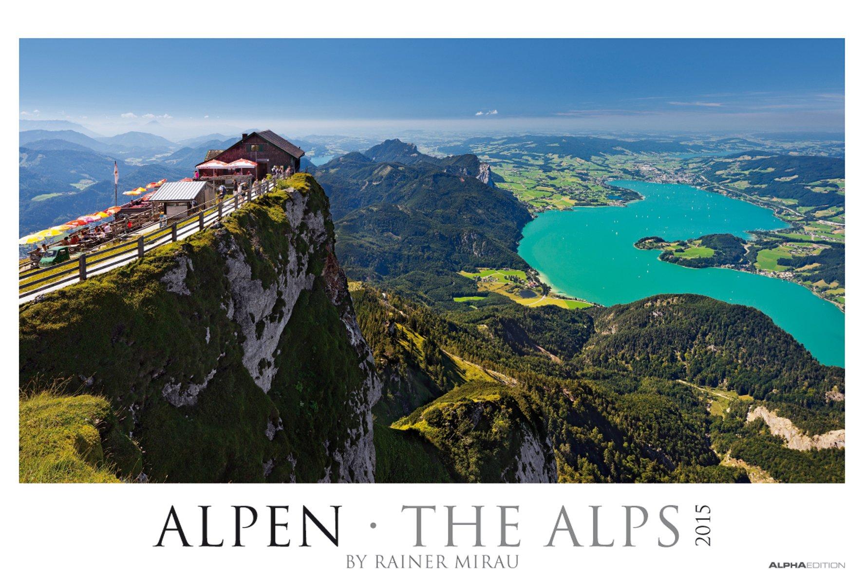 Alpen 2015 - The Alps - Bildkalender XXL (68 x 46) - Landschaftskalender - by Rainer Mirau