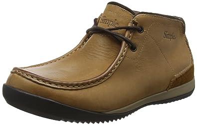 Simple Allagash, Zapatillas para Hombre, Marrón (Brown 200Brown 200), 42.5 EU