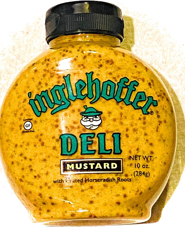 Inglehoffer - Mustard Deli Squeeze - Case of 6-10 Oz