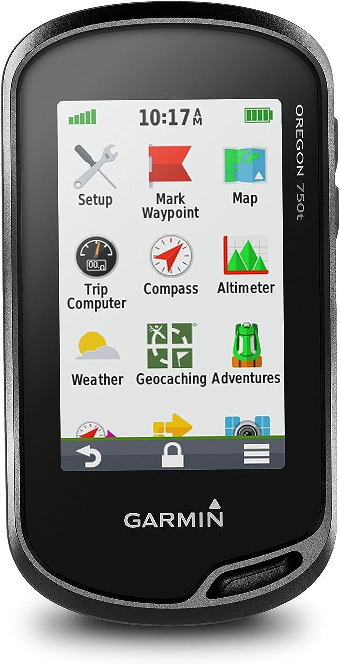 Garmin Oregon 750T - GPS de mano con Wi-Fi, cámara de 8 MP y mapas TopoActive, negro: Amazon.es: Deportes y aire libre
