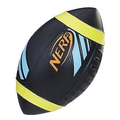 Nerf Sports Pro Grip Football (black football): Toys & Games