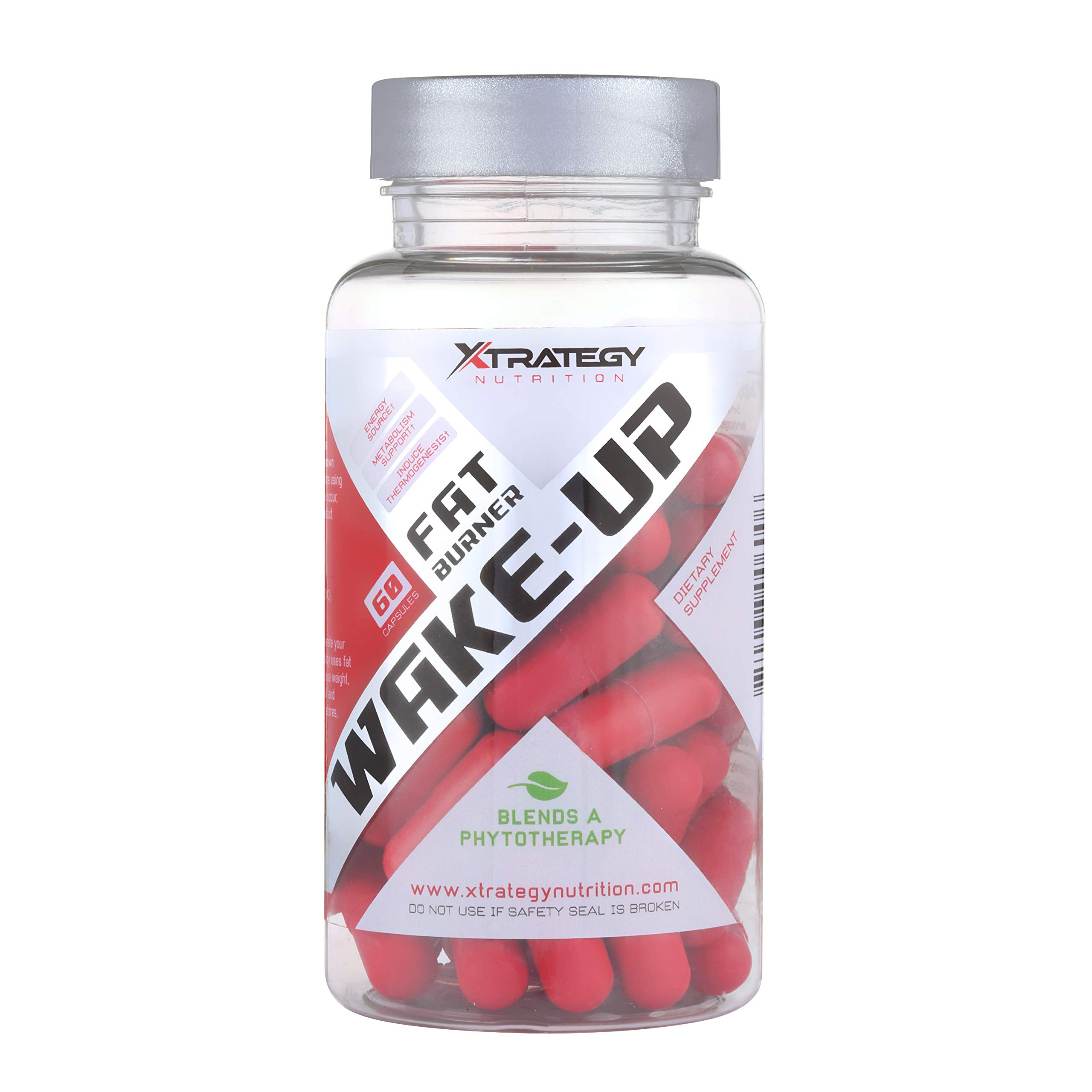 Fat Burner Wake-UP XTRATEGY Nutrition by Coach Bueno Supplement Appetite SUPPRESSANT Energy Booster ACELERATE Metabolism by XTRATEGY