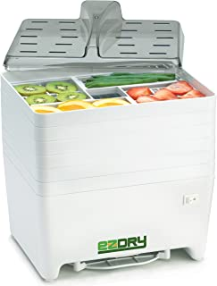 product image for Excalibur EPD60W EZ Dry 6-Tray Stackable Electric Food Dehydrator Features a Constant Temperature of 120 to 165 Degree Fahrenheit BPA Free, 6-Tray, White