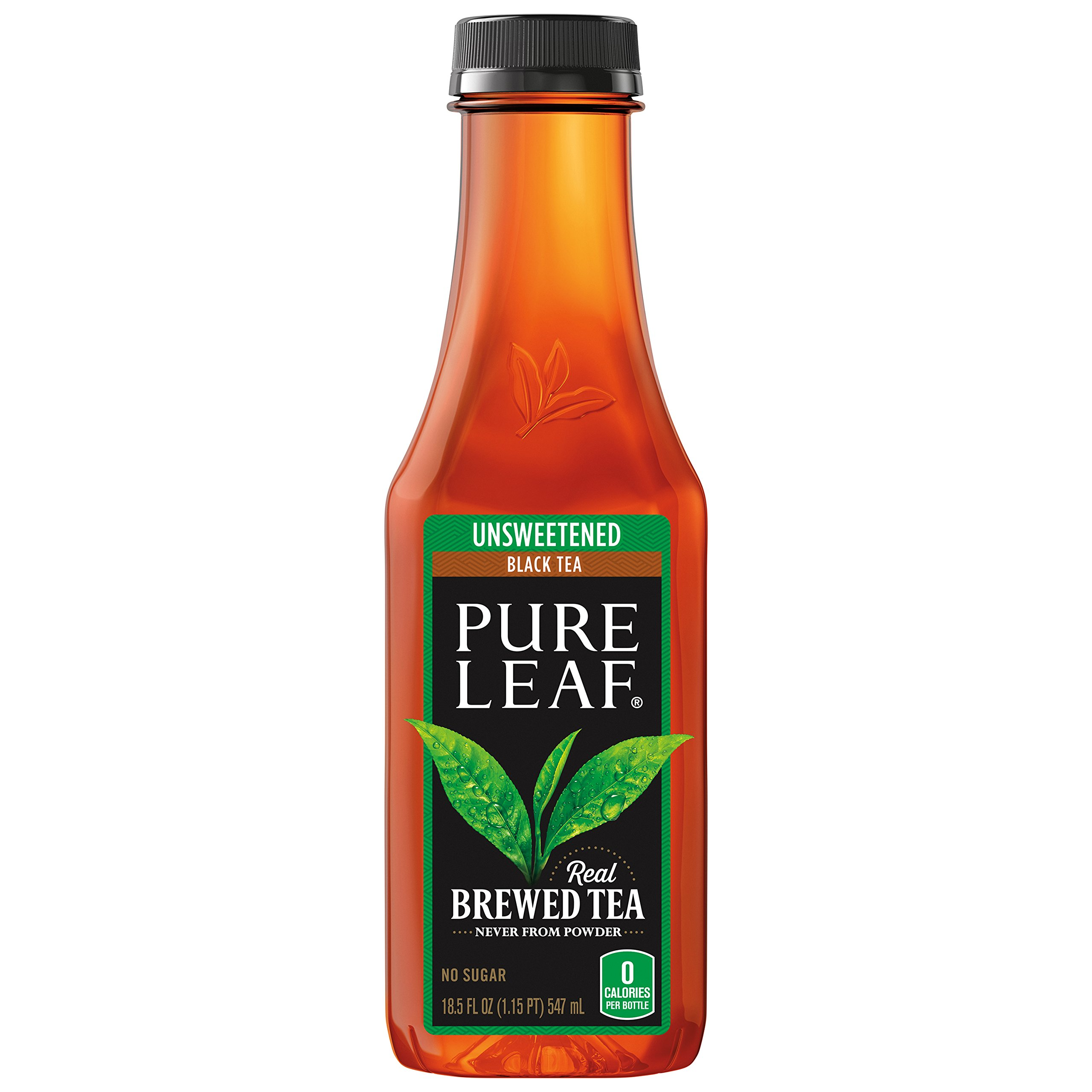 Pure Leaf Iced Tea, Unsweetened, Real Brewed Black Tea, 0 Calories, 18.5 Ounce (Pack of 12) by Pure Leaf (Image #5)