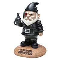 BigMouth Inc Officially Licensed Star Trek Borg Gnome Statue Funny Lawn Gnome Statue Garden Decoration