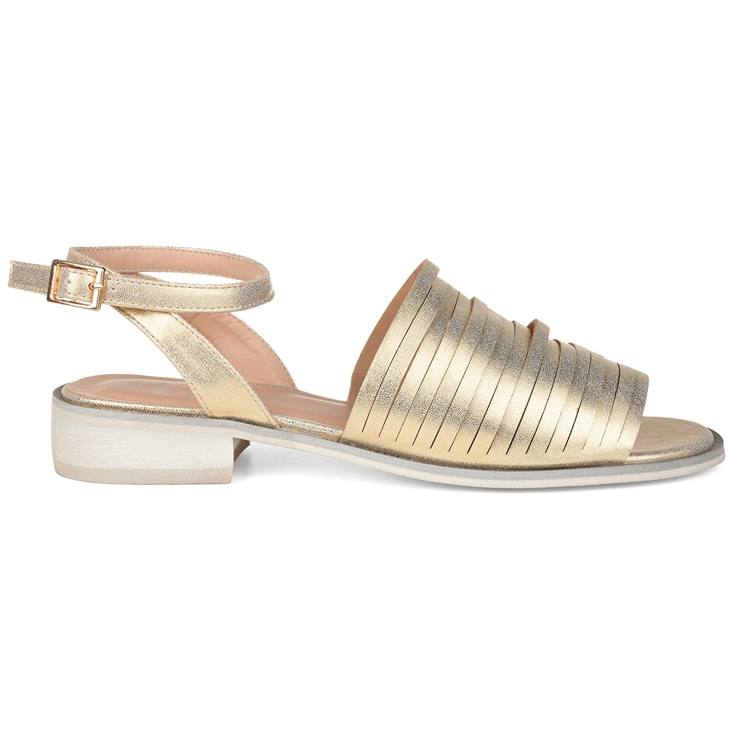 3fad93066 Womens Ankle Strap Casual Flat Sandal
