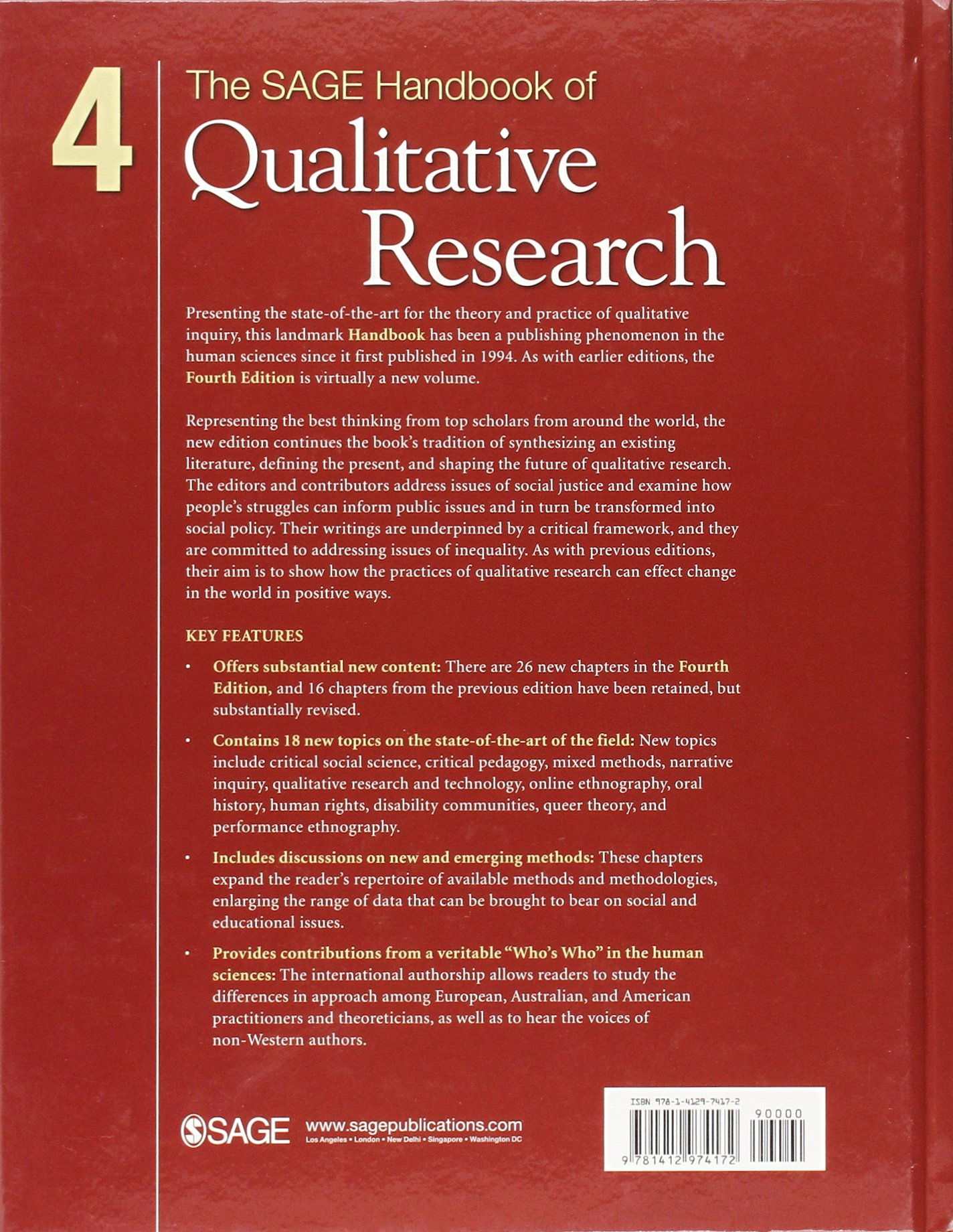 The sage handbook of qualitative research norman denzin yvonna the sage handbook of qualitative research norman denzin yvonna lincoln 9781412974172 books amazon buycottarizona