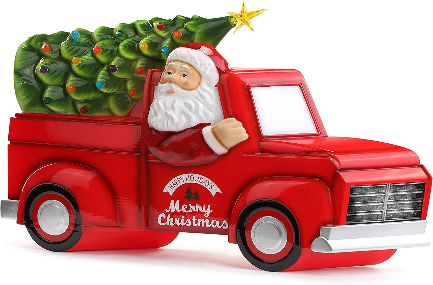 Amazon Com Mr Christmas Blow Mold Truck With Tree Christmas Decor Red Green Home Kitchen Made in 3ds max 2009, include 10 trees with. mr christmas blow mold truck with tree