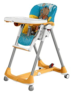 Highchair Prima Pappa Prima Pappa Diner Hippo giallo Peg Perego
