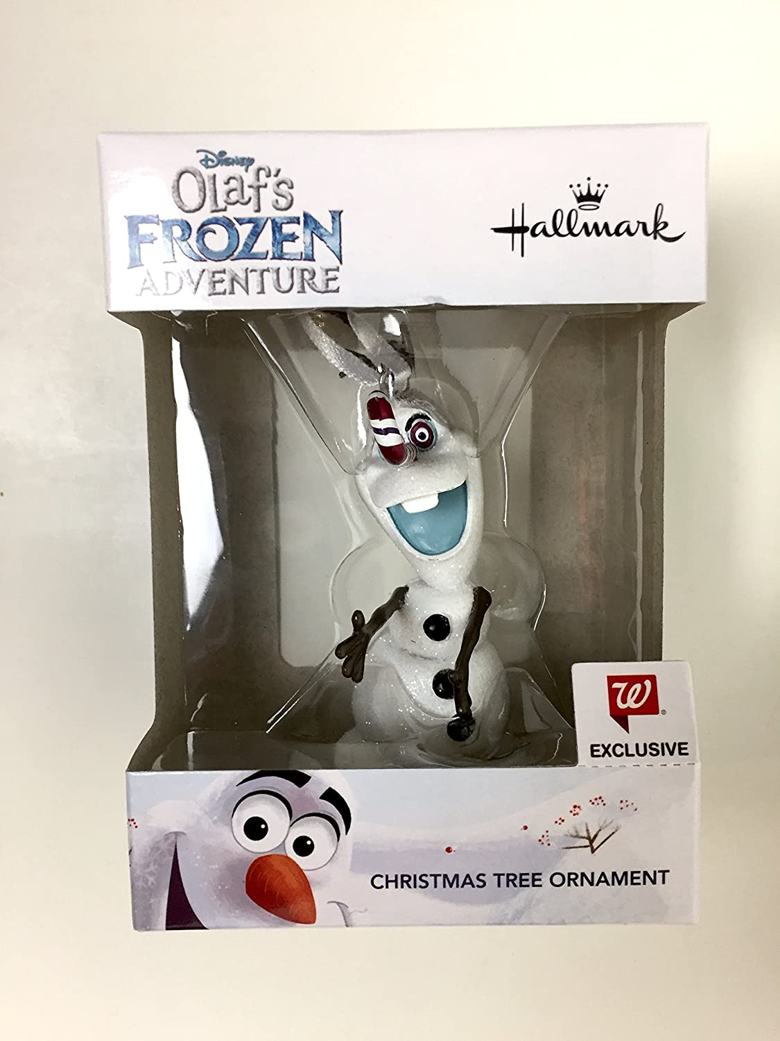 Amazon.com: Hallmark Olaf Christmas Tree Ornament - Olaf\'s Frozen ...