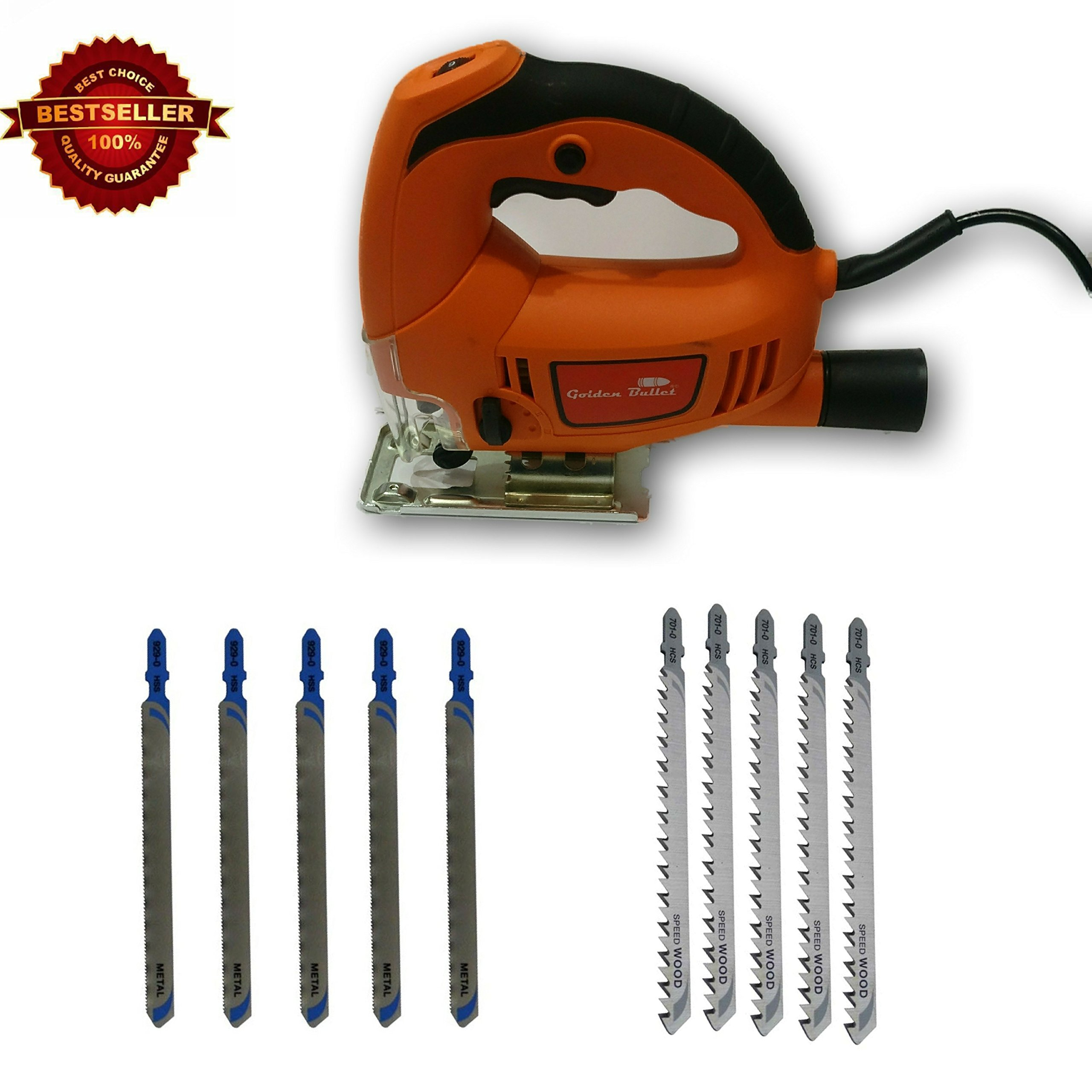 Tools Centre Industrial Pendulum Jigsaw Machine With Variable Speed & Free Blades For Metal