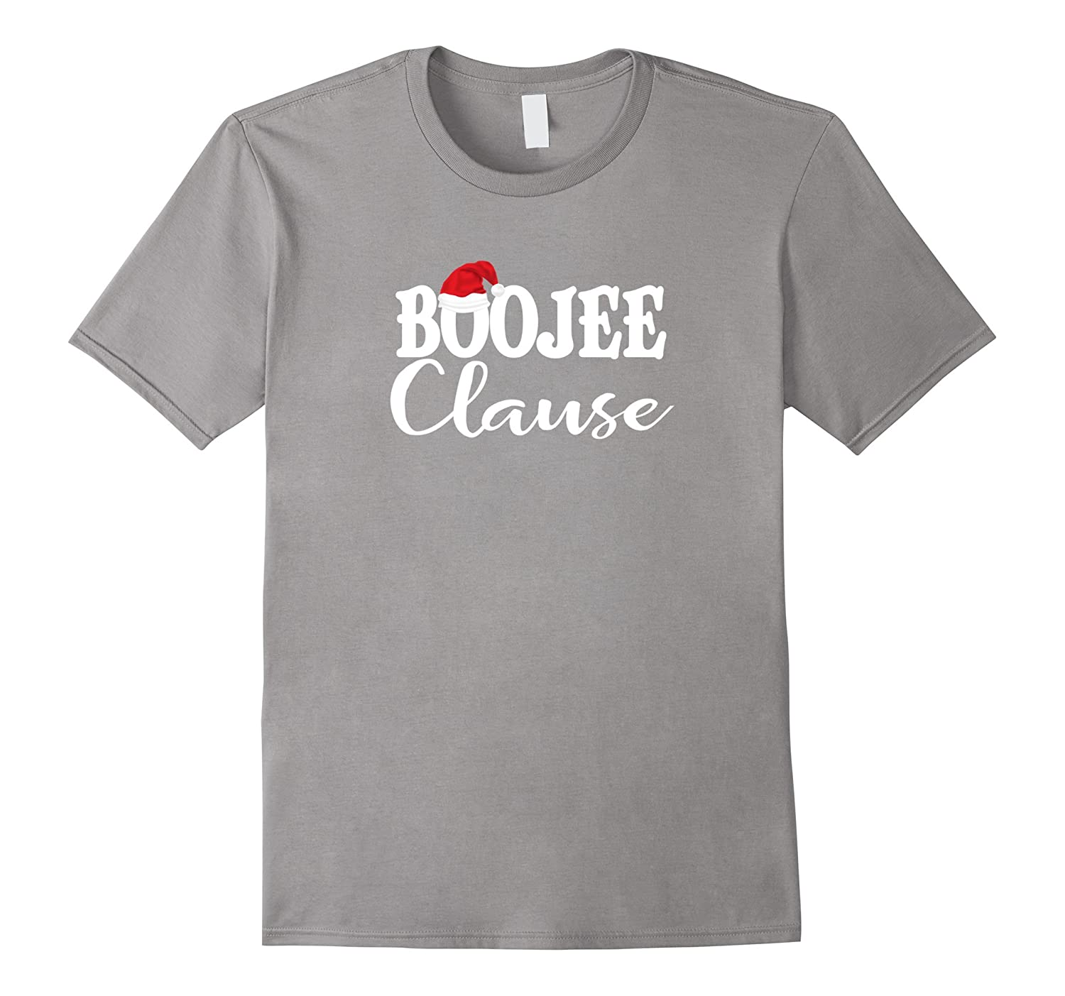Boojee Clause Tshirt Funny Christmas Ugly Party Shirt-Teevkd