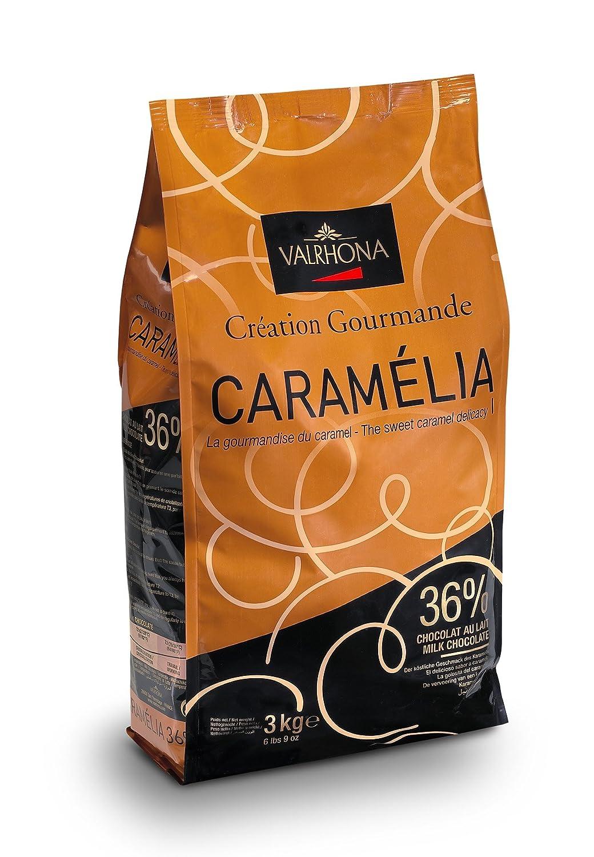 Amazon.com : Valrhona Caramel Chocolate Pistoles - Milk, 34 ...