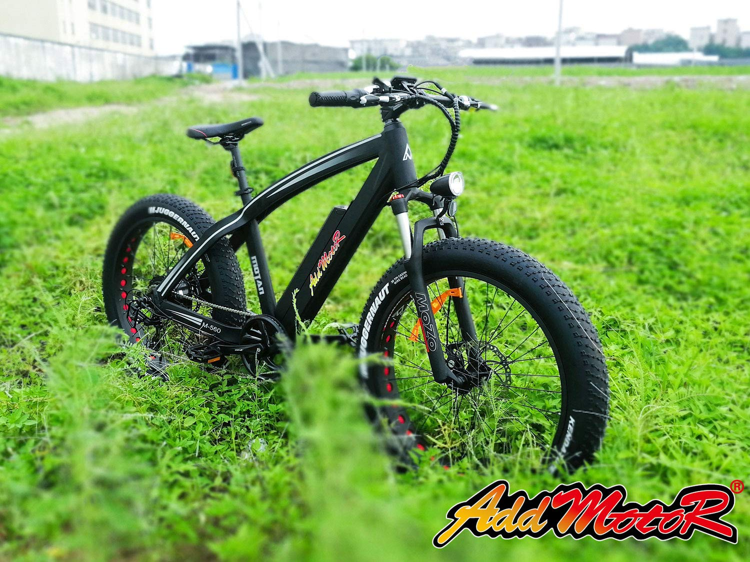 8b40d6ecc0f Amazon.com : Addmotor MOTAN Electric Bicycles Mountain Fat Tire 26 Inch 750W  Power Electric Bikes Removable 48V 11.6AH Lithium Battery M-560 P7 Ebikes  for ...