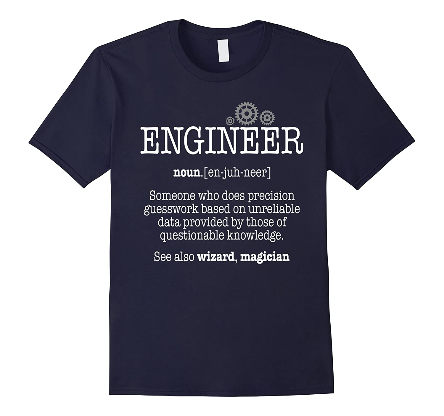 Funny Engineer Definition Trust Me Im An Engineer T-shirt-TD