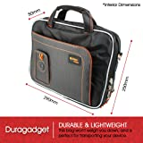 DURAGADGET Tough Laptop Shoulder Bag with Multiple
