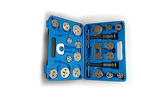 KFZTEILESCHNELLVERSAND24 22 Piezas Alkan-Werkzeuge - Platos rücks de pistón de Freno de Coche Herramientas: Amazon.es: Coche y moto