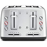 Breville 4 Slice Toasters, Stain Less Steel, LTA670BSS