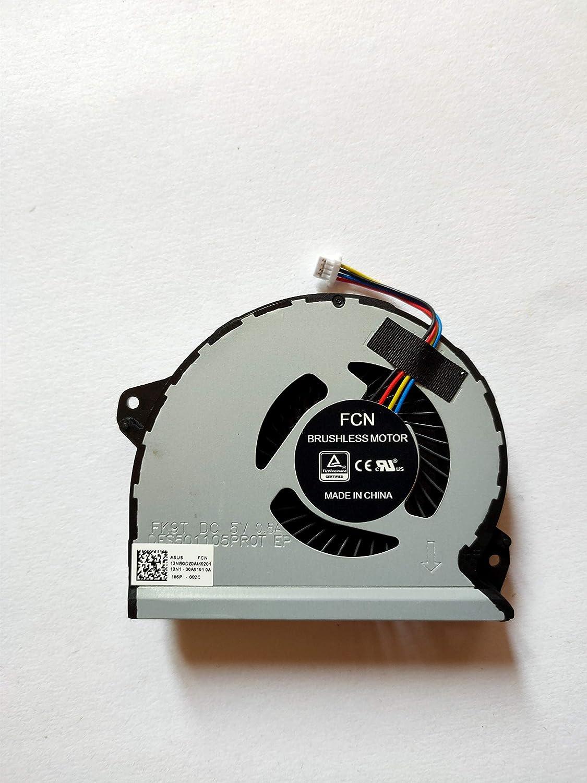 ZHENHUIYOU for Asus ROG Strix GL702VS S7VS Laptop CPU Cooling Fan