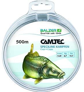 0,65mm Balzer Camtec Speciline Wels 200m Monofile Angelschnur 0,55mm