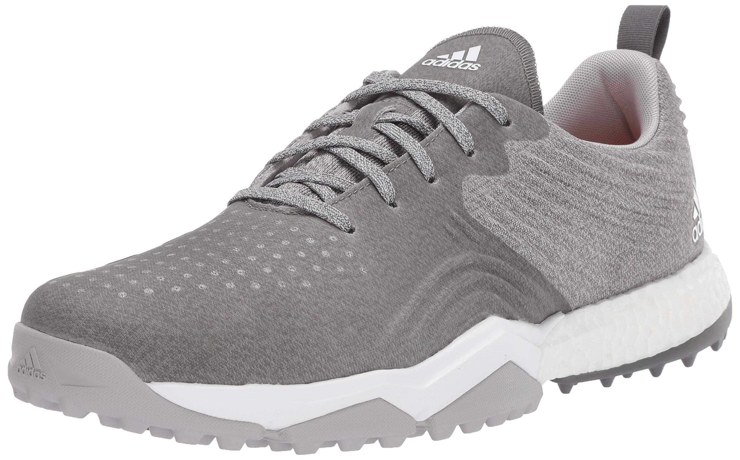 adidas Men's Adipower 4ORGED S Golf Shoe, Grey Two/Grey Four/raw Amber, 11.5 M US by adidas