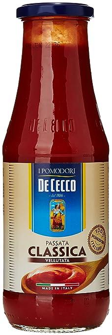 18 opinioni per De Cecco- Passata di Pomodoro, Classica Vellutata- 700 g