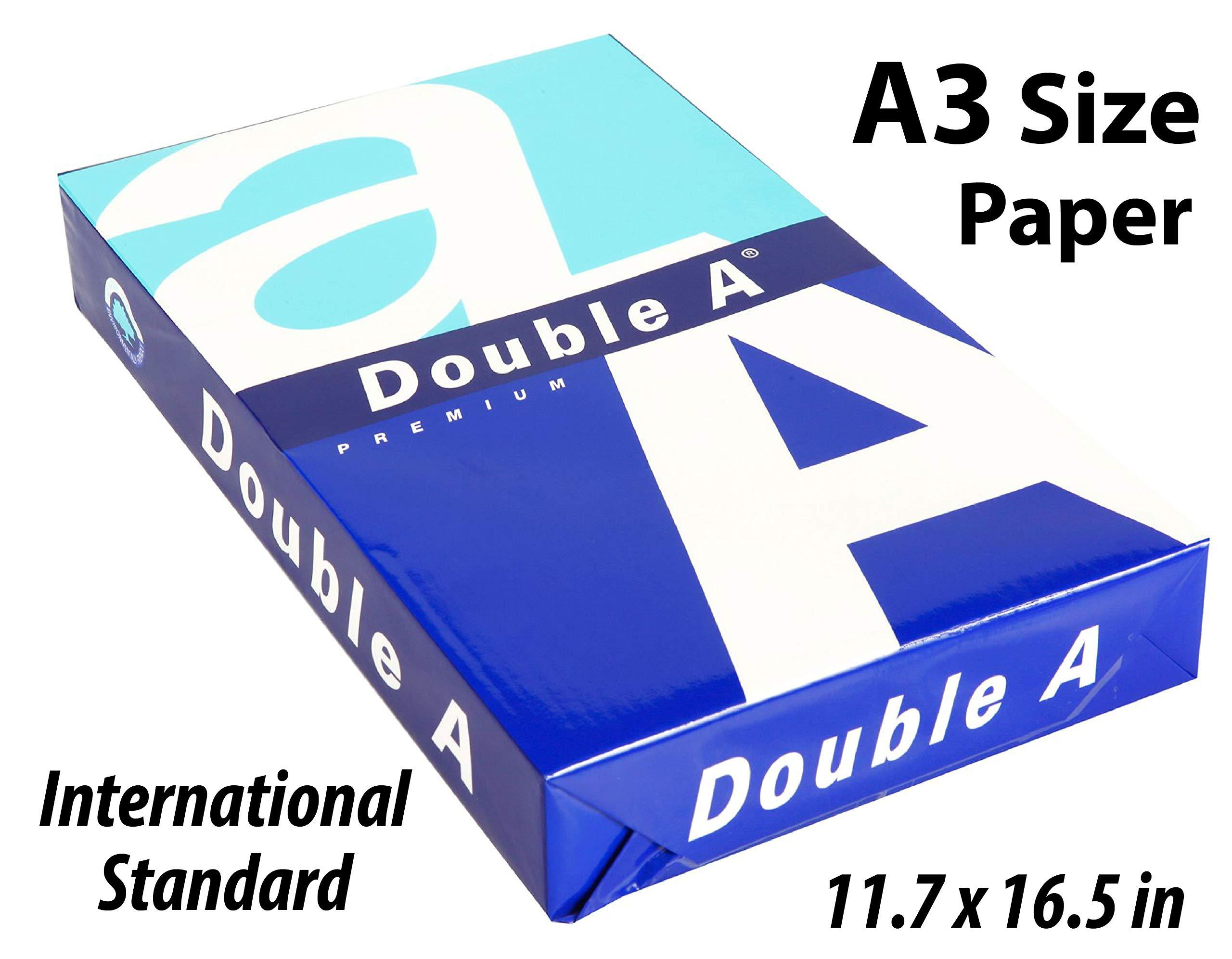 A3 Premium Printer Paper - 11.69 x 16.53 inches - International Size (500 Sheets)