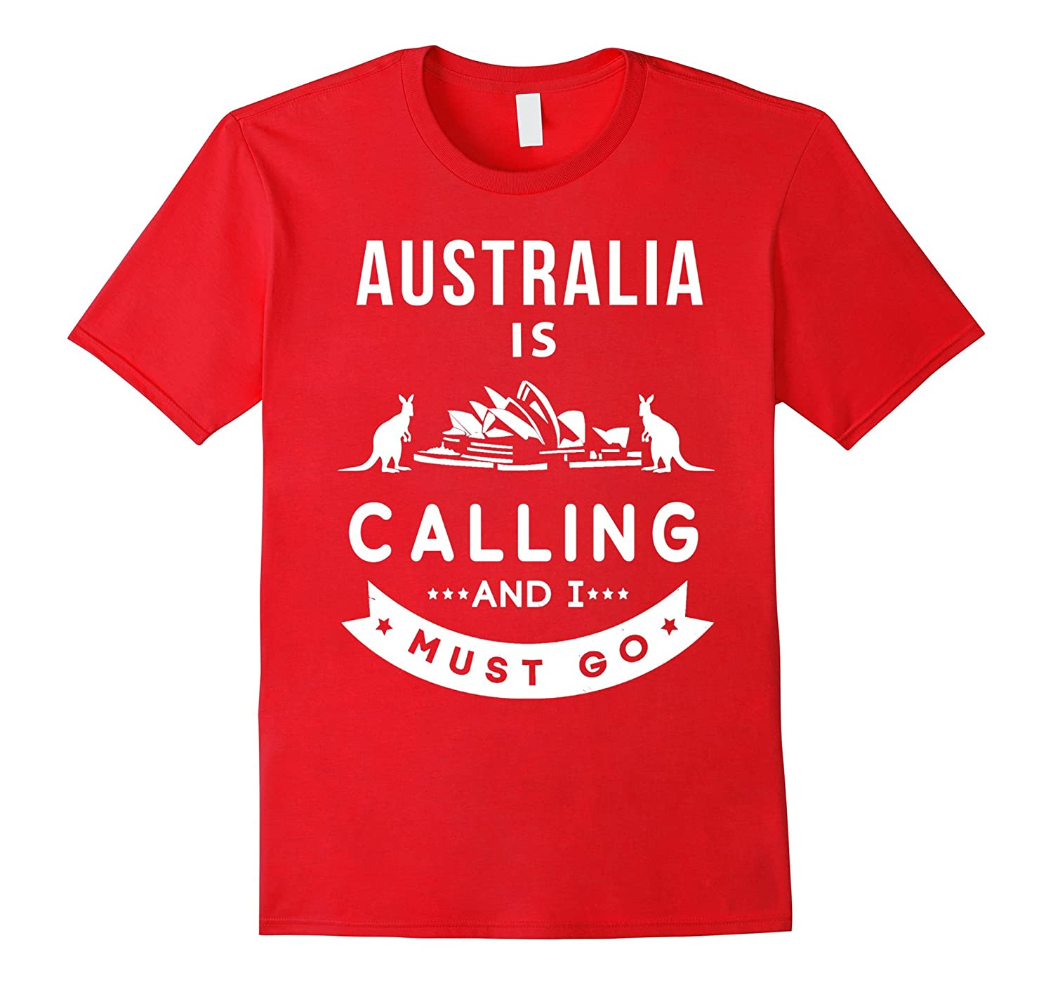 AUSTRALIA IS CALLING AND I MUST GO-BN