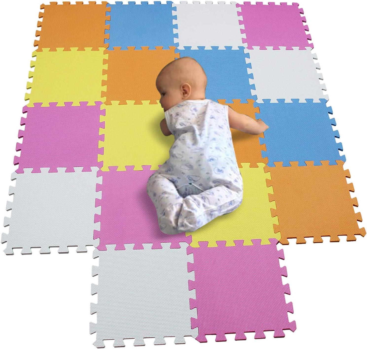 BUCHAQIAN Foam Play Mat Large Size Interlocking Baby Foam Mats for Baby Playing A0