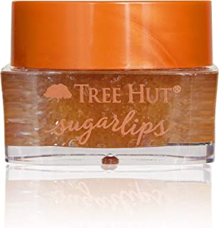 product image for Tree Hut Sugarlips Sugar Lip Scrub, Brown Sugar 0.34oz Jar, Shea Butter and Raw Sugar Scrub Ultra-Hydrating Lip Exfoliator, Lip Care
