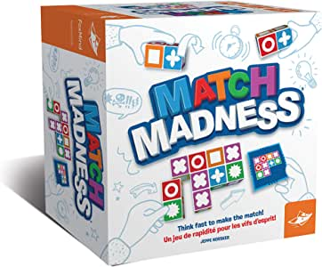 Match Madness Board Game