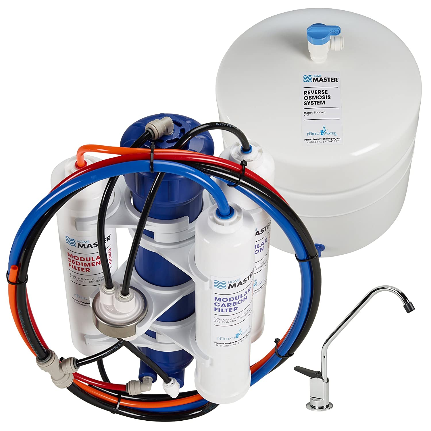 Home Master TM Standard Undersink Reverse Osmosis Water Filter System