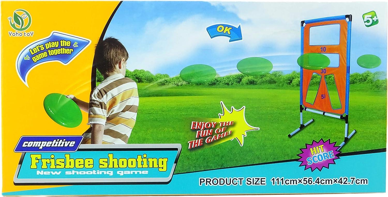 Amazon Com Toyland Frisbee Disc Shooting Score Game Outdoor