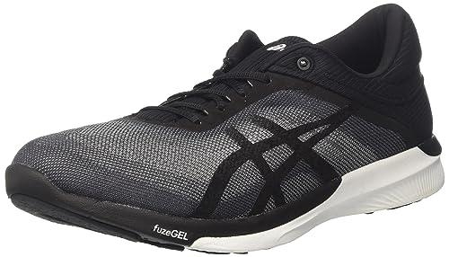 Asics T768N9690, Zapatillas de Running para Mujer, Gris (Midgrey/Black/White), 38 EU: Amazon.es: Zapatos y complementos