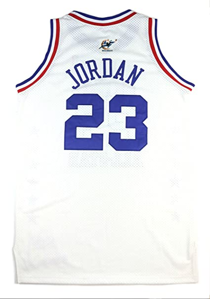 MICHAEL JORDAN 2003 GAME ISSUED PRO-CUT LAST ALL-STAR GAME JERSEY at Amazons Sports Collectibles Store