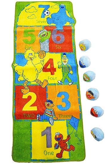 Amazing Sesame Street Rug   Hopscotch Activity Area Mat