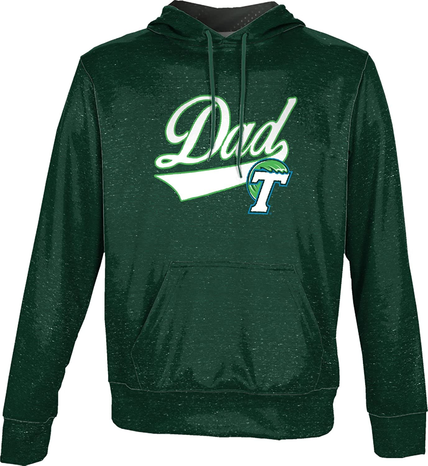Heather School Spirit Sweatshirt ProSphere Tulane University Fathers Day Mens Pullover Hoodie