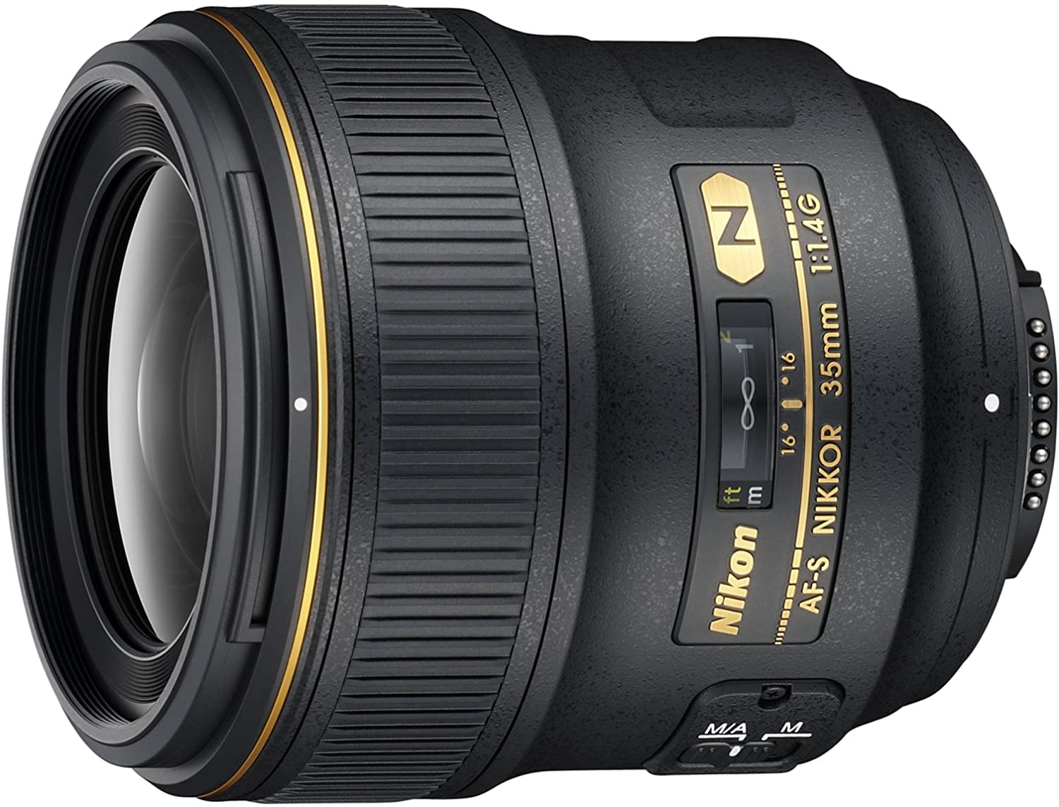 Nikon AF-S FX NIKKOR 50mm f//1.4G Lens with Auto Focus for Nikon DSLR Cameras
