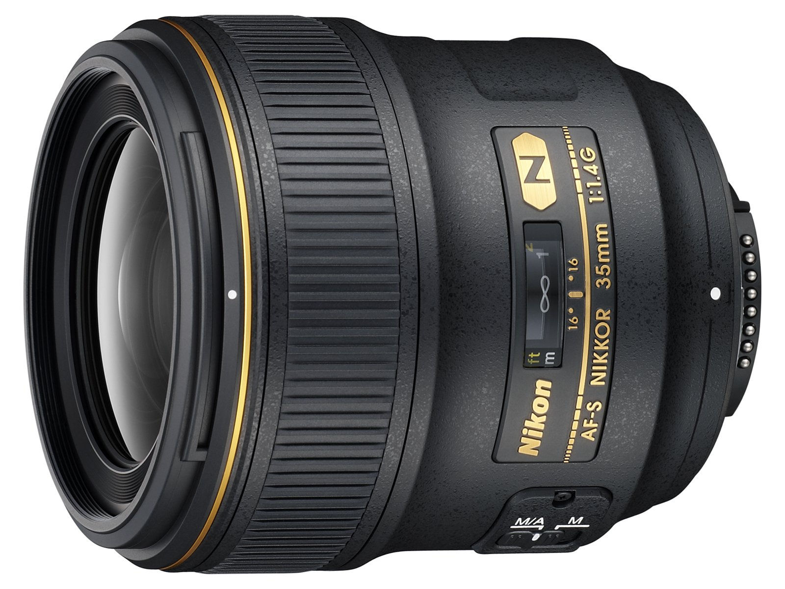 Nikon AF FX NIKKOR 35mm f/1.4G Fixed Focal Length Lens with Auto Focus for Nikon DSLR Cameras by Nikon