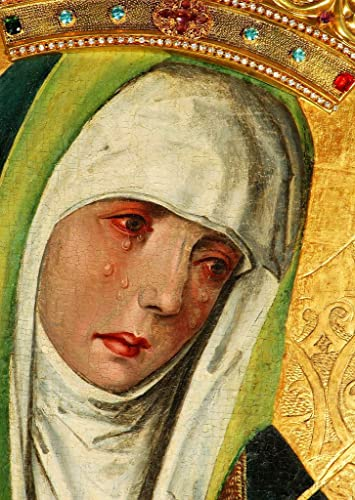 Amazon.com: Our Lady of Sorrows POSTER A3 print Virgin Mary picture ...