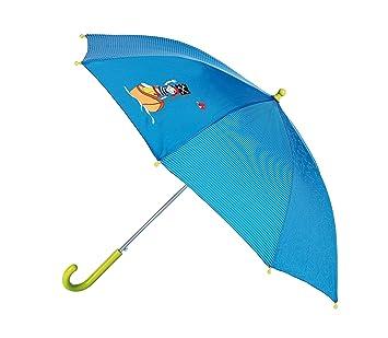 Sigikid 23291 - Paraguas con diseño de pirata, color azul y verde