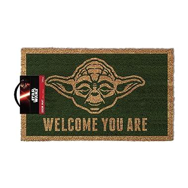 Pyramid America GPA70003 Star Wars-Yoda-Doormat, Multi