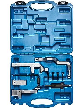 FreeTec 5 pi/èces Arbre /à cames Extracteur de roue voiture Outils Changement de la courroie pour VAG VW Audi Tdi