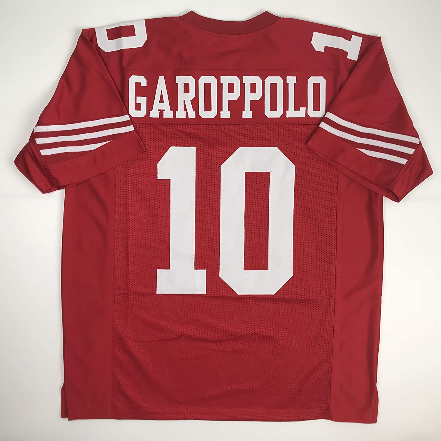 pretty nice fb712 9f23c Unsigned Jimmy Garoppolo San Francisco Red Custom Stitched Football Jersey  Size Men's XL New No Brands/Logos