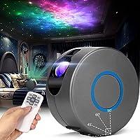 Led-sterrenhemel projectorlamp, laserprojector sterrenhemel met afstandsbediening, 15 modi, Galaxy projector licht met…