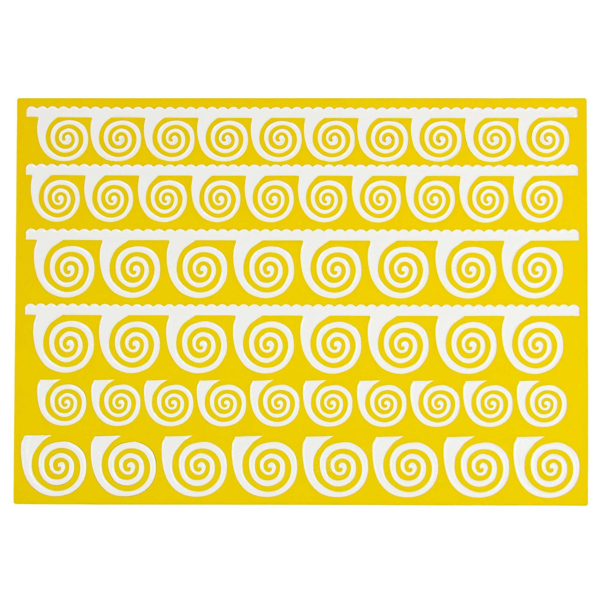 Vertigo Spirals Silicone Lace Mat by Chef Alan Tetreault
