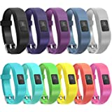 11 Colors Garmin Vivofit 3 Vivofit JR Bands With Secure Watch Clasp , SnowCinda Silicone Replacement Bands for Garmin Vivofit 3 JR