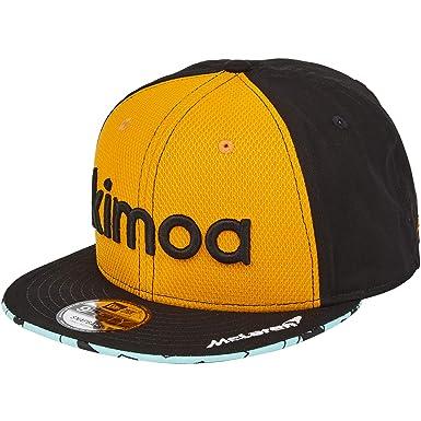 McLaren Official 2018 Fernando Alonso Kimoa Cap by New Era - Papaya - Kids   Amazon.co.uk  Clothing 03db0b931f3