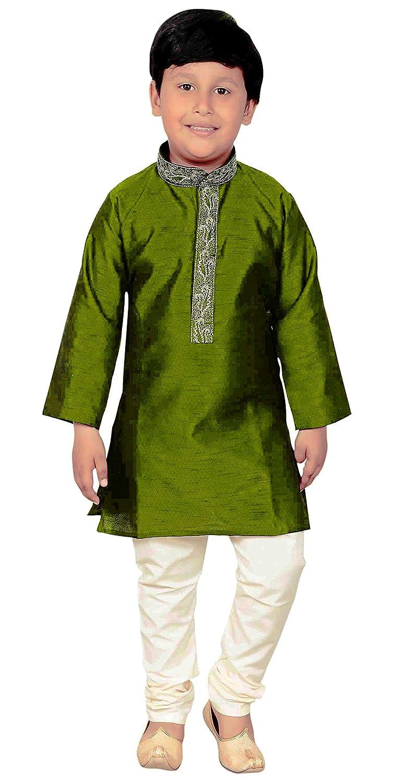 Desi Sarees Jungen Indianer Sherwani Kurta Pyjama Party Wear Kreation 940