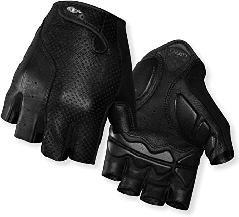 New Giro Men/'s SIV Gloves Cycling Bike XL Black White 4 MM Padding Fingerless